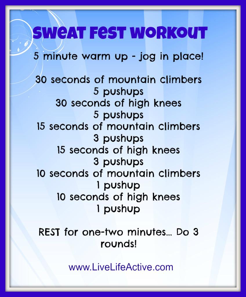 sweatfestworkout