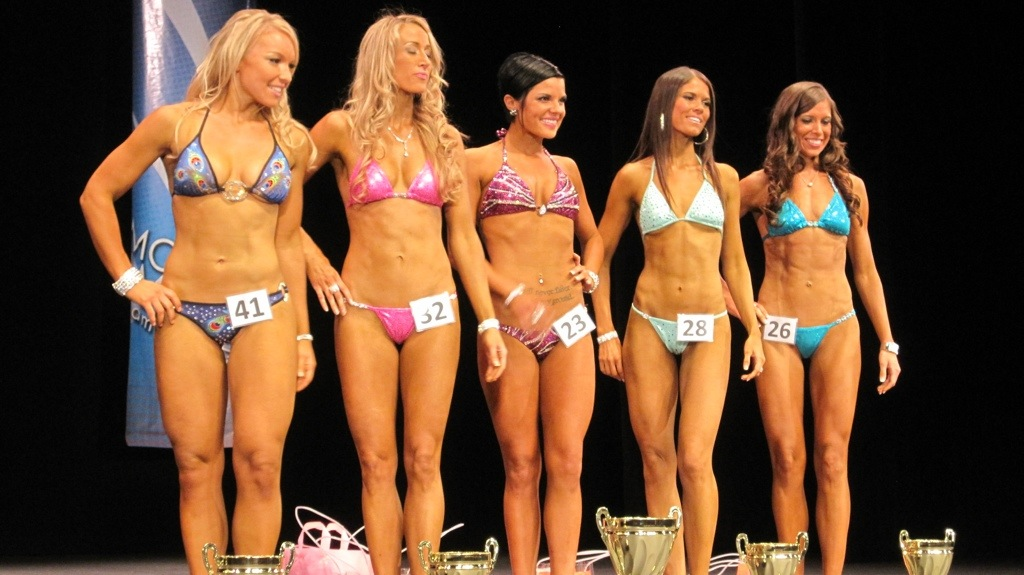 Tan For A Bikini Competition